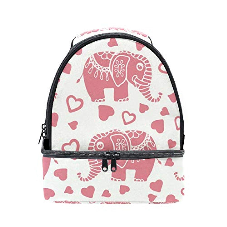 差別化する専門できれば旅人 ランチバッグ ダブルデザイン 手提げ 弁当袋 抽象 象と心柄 冷蔵ボックス キャンプ用品 保冷 保温 学生 通勤族用
