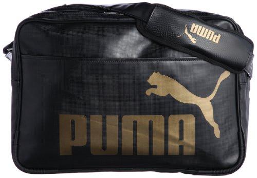 [プーマ] PUMA TS Mat Type A Shoulder L 071476 07 (Black-Black-Gold)