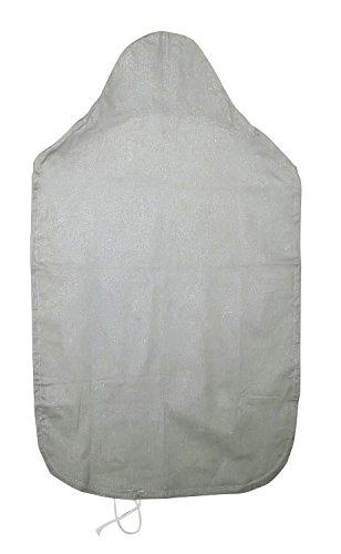 ベストコ ナチュラルウッド人体型アイロン台 専用替えカバー アルミコート シルバー ND-3383