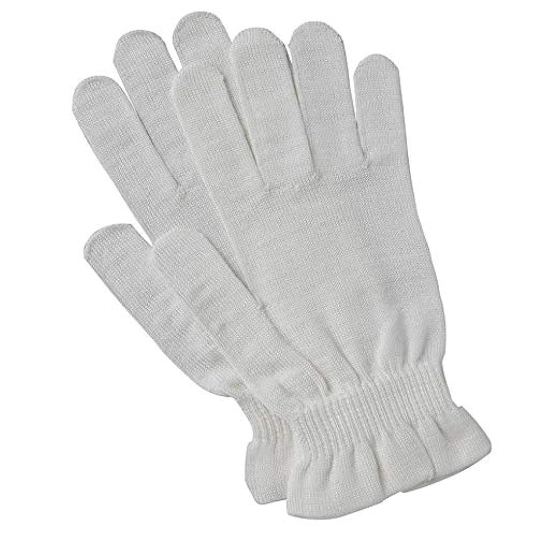裕福な教育誠実京都西陣の絹糸屋さんのシルク手袋