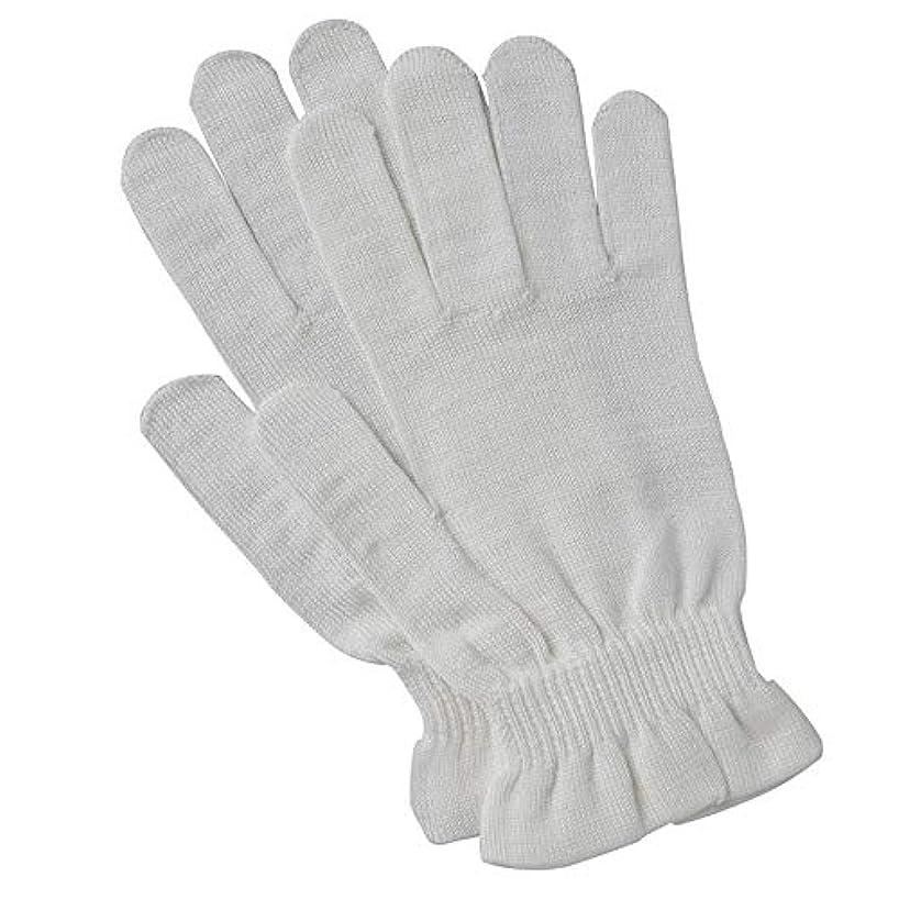 原油福祉成分京都西陣の絹糸屋さんのシルク手袋