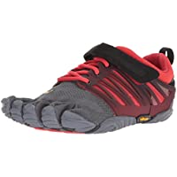 Vibram Mens Men's V-Train Grey/Black/Red Grey Size: