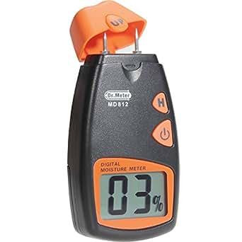 (イユ) Yiyu デジタル木材水分計 木材の湿度測定計 2ピンタイプ ストラップ付き MD812