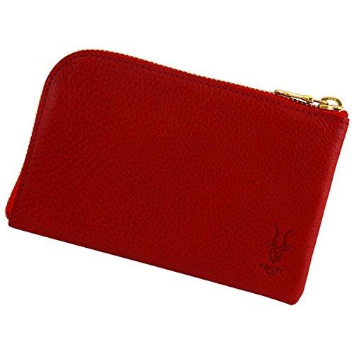 アジリティ アリゾナスマートウォレット L型長財布 Agility iPhone 6対応 スマホも入る長財布 小銭 L字ファスナー レッド