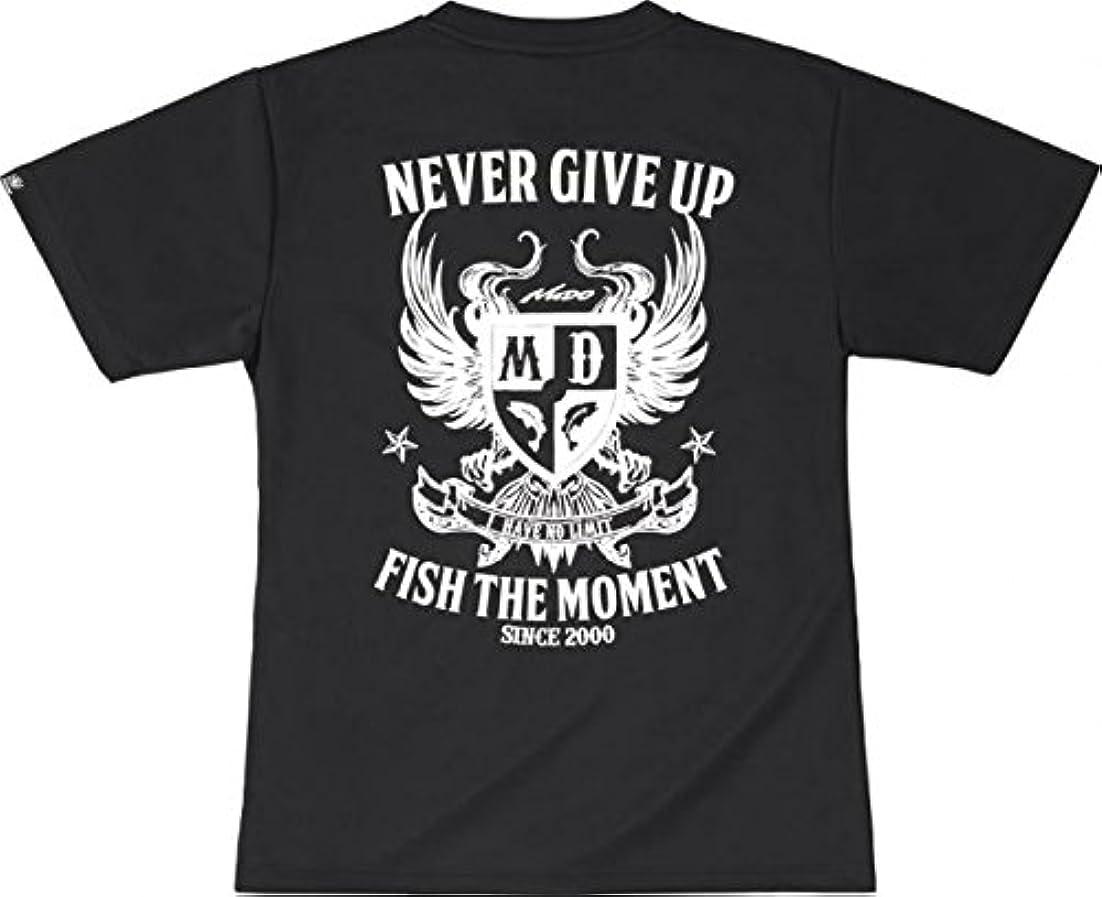 襲撃チャレンジドアエバーグリーン(EVERGREEN) Tシャツ ドライ モードEタイプ XXL ブラック