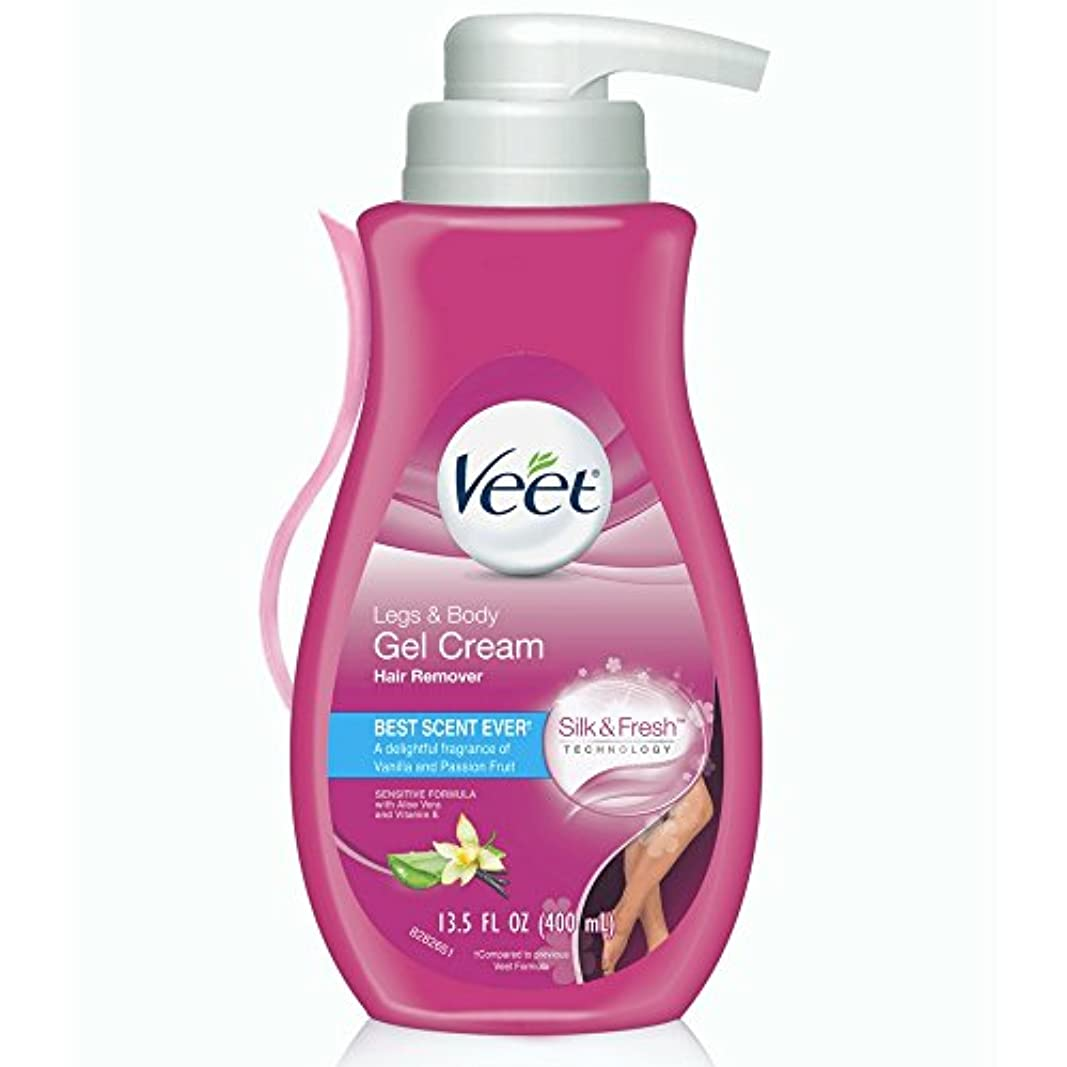 武装解除医学使役VEET. Hair Removal Gel Cream Pump: Sensitive Formula (並行輸入品)