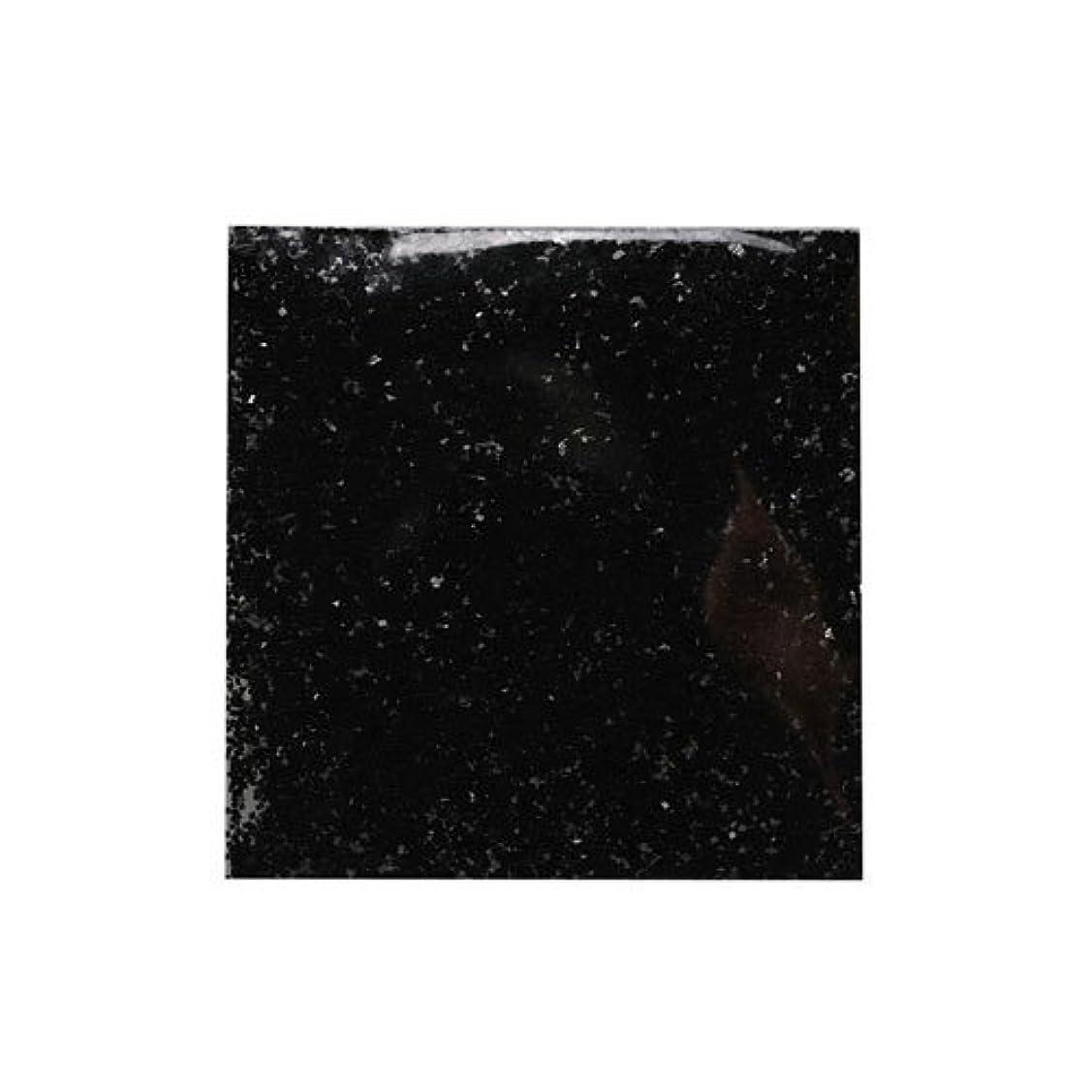 令状私達嫌なピカエース ネイル用パウダー ラメメタリック M #537 ブラック 2g アート材