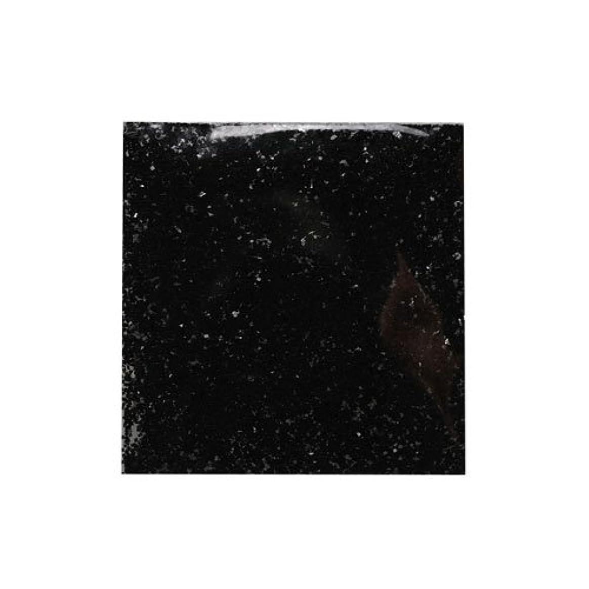 理想的かごガジュマルピカエース ネイル用パウダー ラメメタリック M #537 ブラック 2g アート材