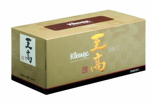 クリネックス ティシュー 至高 3枚重ね 480枚(160組)