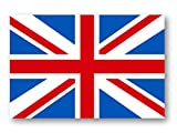 国旗ステッカー(イギリス)Sサイズ2枚セット 再帰反射でよく目立つ イギリスS