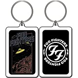 FOO FIGHTERS UFO SCENE, Officially Licensed Original Artwork, Lucite KEYCHAIN