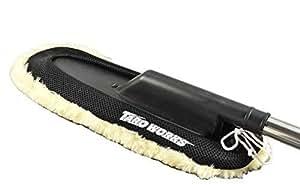 [TARO WORKS] 洗車 伸縮 モップ 【ムートン ウール クラス】 手洗い ウォッシュ モップ
