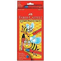 Jumbo Beeswax Crayons 12/Pkg- (並行輸入品)