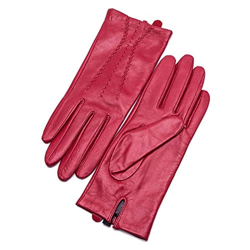 BAJIMI 手袋 グローブ レディース/メンズ ハンド ケア レザーグローブレディース薄手ライディングウィンドグローブ 裏起毛 おしゃれ 手触りが良い 運転 耐磨耗性 換気性