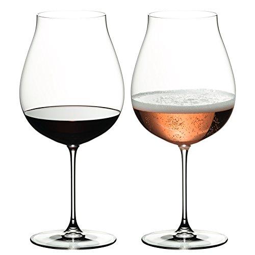 リーデル ヴェリタス ニューワールド・ピノ ワイングラス 6449/67 (790cc) 2脚箱入 665