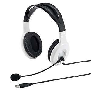 サンワサプライ USBヘッドセット/ヘッドホン MM-HSUSB7W