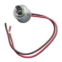 LONYE 4387503 冷蔵庫霜取りサーモスタット、Whirlpool Kenmore Sears WP4387503 AP6009317 PS11742474用