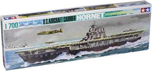 1/700 ウォーターラインシリーズ No.510 1/700 アメリカ海軍 航空母艦 ホーネット 77510