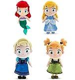 Rabbitモール、30cm Elsa Anna人形幼児用アリエルシンデレラソフトPlush Dolls Fever Elsa Anna誕生日ギフトQueen Princess Boneca Peluche Toys by Rabbitモール。