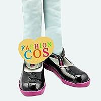 ★サイズ選択可★男性26.5CM UC585 VOCALOID3 結月ゆたり コスプレ靴 ブーツ