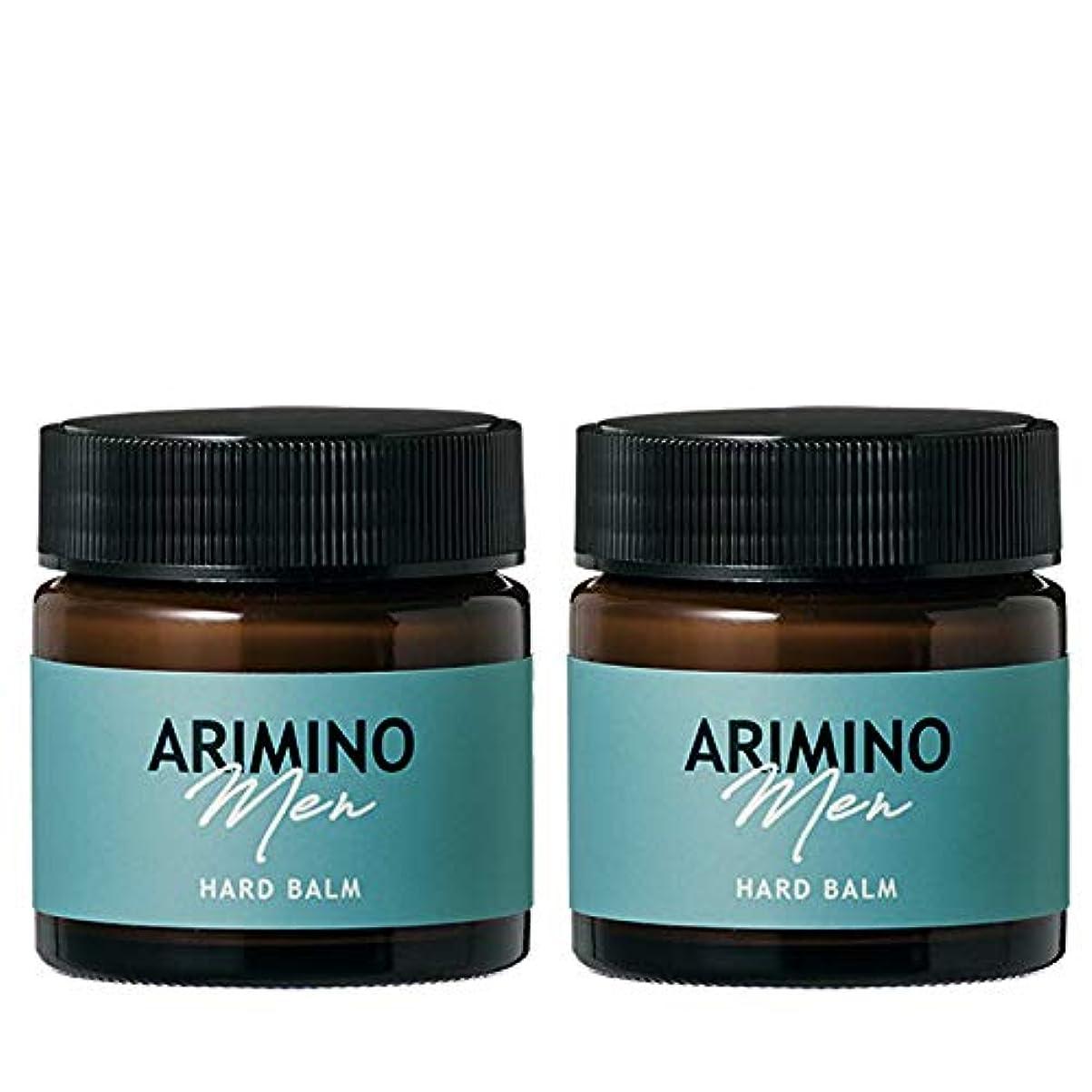 ニコチン料理信頼性アリミノ メン ハード バーム 60g ×2個 セット arimino men