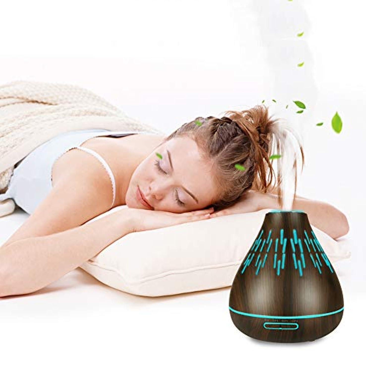 差し迫ったレスリング社説超音波 アロマディフューザー 、寝室やオフィスでリラックスした雰囲気のための300ミリリットルLED加湿器睡眠と呼吸