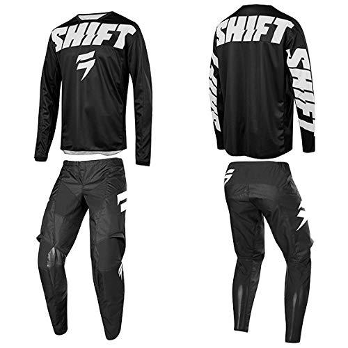 Shift シフト 2019年 WHIT3 ホワイト パンツ & ジャージ セット York ヨーク ブラック 32/M [並行輸入品]