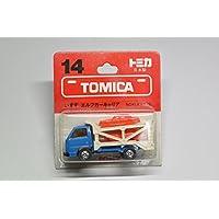トミカ 日本製 ブリスター 14 いすゞ エルフ キャリアカー 1/78