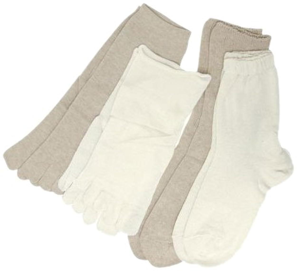 織る用心深い敬な4枚重ね履きソックス