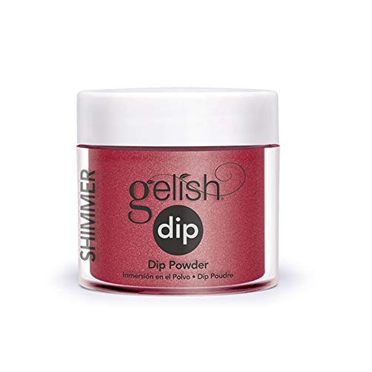 暴露拘束する簡単なHarmony Gelish - Acrylic Dip Powder - Ruby Two-Shoes - 23g / 0.8oz