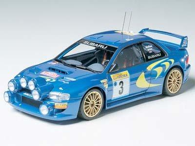 1/24 スポーツカー No.199 1/24 スバル インプレッサ WRC '98 モンテカルロ仕様 24199