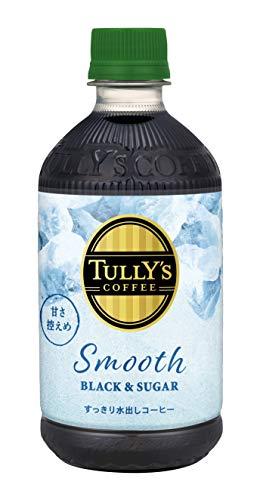 TULLY'S COFFEE Smooth BLACK&SUGAR 500ml ×24本