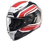 Honda(ホンダ)  フルフェイスヘルメット Honda×KAMUI-2 インナーサンシェード付 ホワイト/ブラック Mサイズ 0SHGB-RM1A-WKM