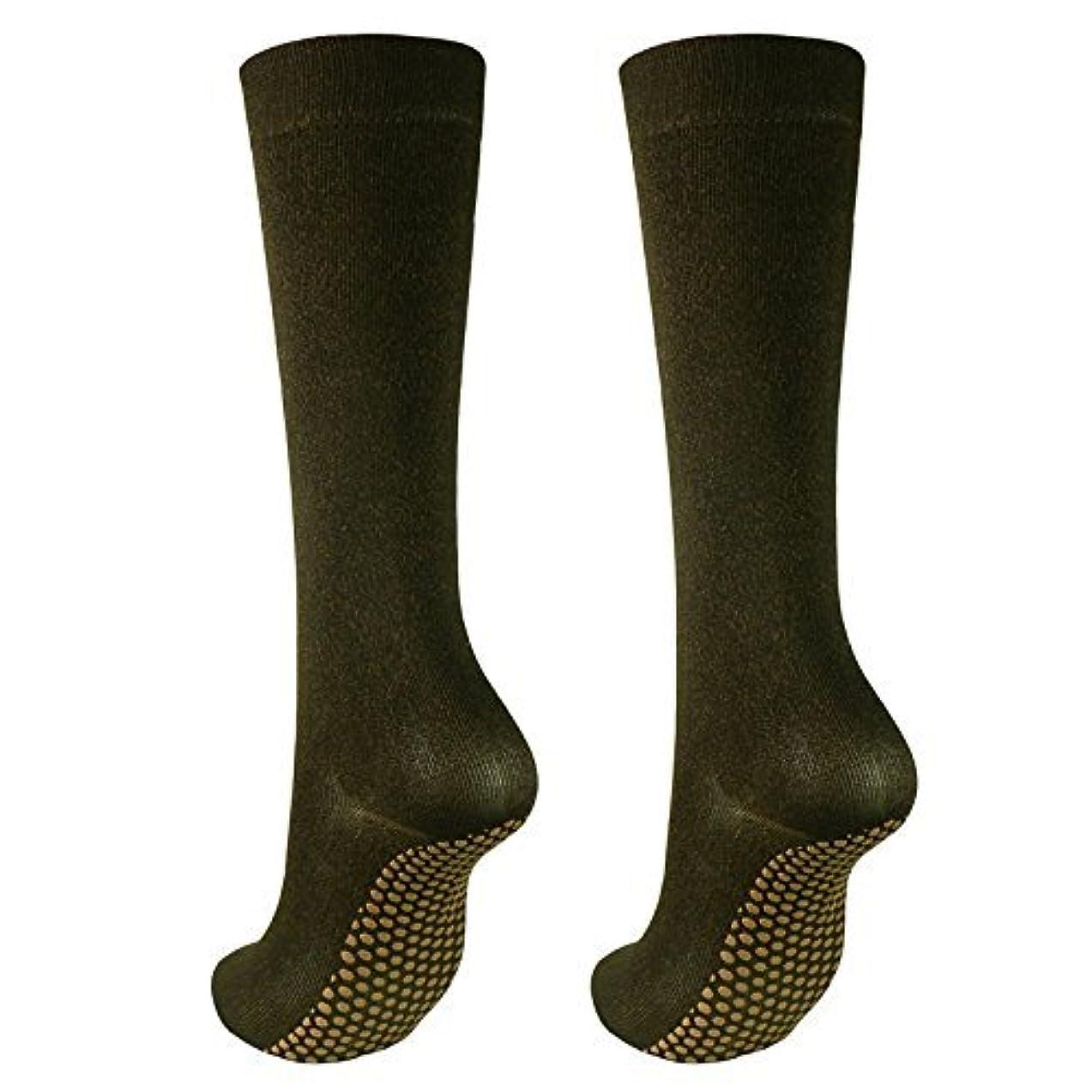急速な弓コークス銅繊維靴下「足もとはいつも青春」ハイソックスタイプ2足セット?静電気対策にも