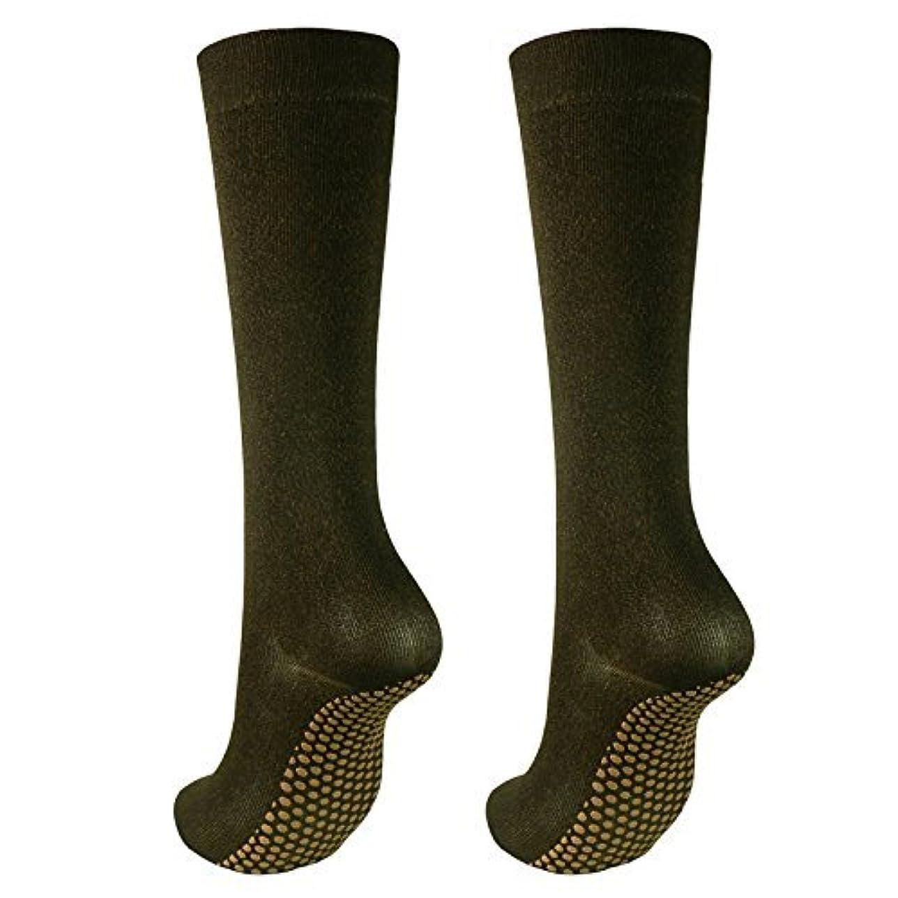 賞専門伝記銅繊維靴下「足もとはいつも青春」ハイソックスタイプ2足セット?静電気対策にも