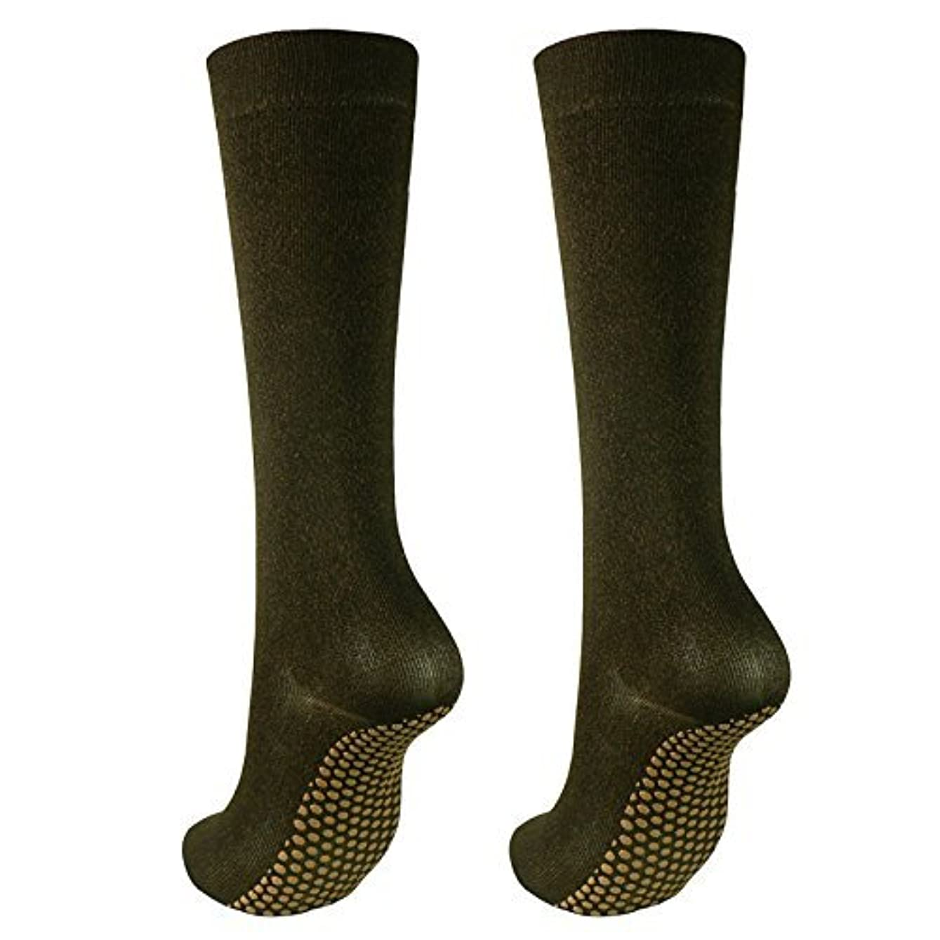滅びる熱意最悪銅繊維靴下「足もとはいつも青春」ハイソックスタイプ2足セット?静電気対策にも