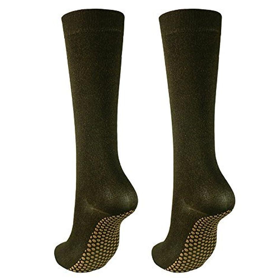 パラダイスカフェテリア北東銅繊維靴下「足もとはいつも青春」ハイソックスタイプ2足セット?静電気対策にも