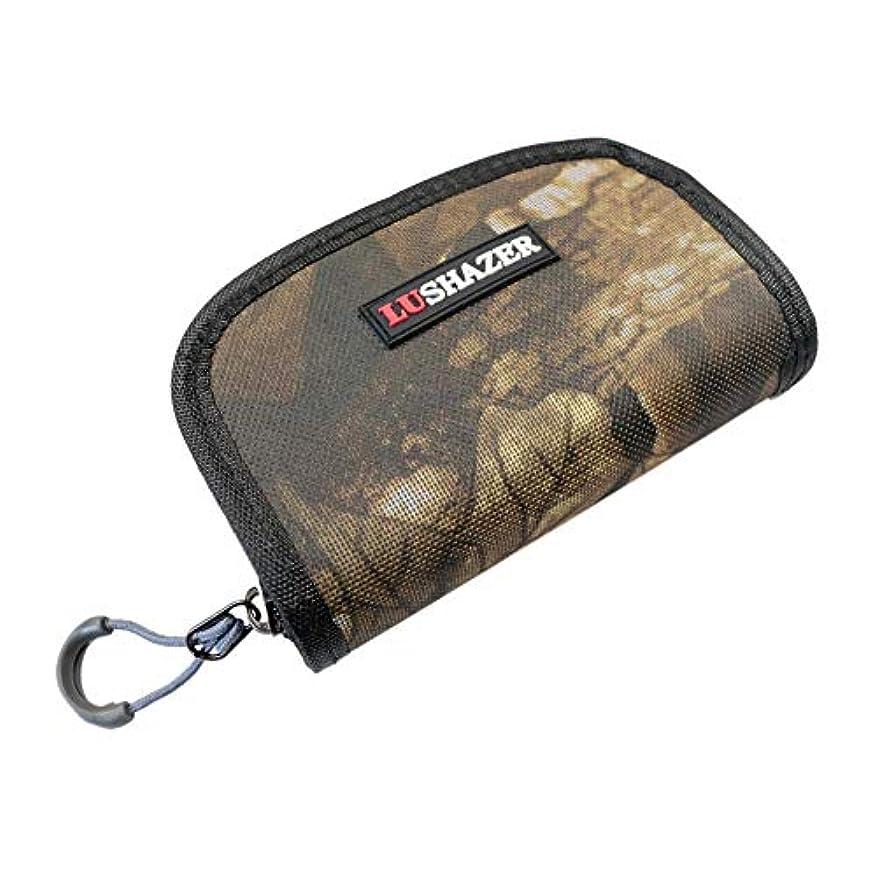 水素子音作家k-outdoor ルアーバッグ 釣りバッグ ナイロン 餌バッグ ウエストパック 釣りタックル ストレージバッグ