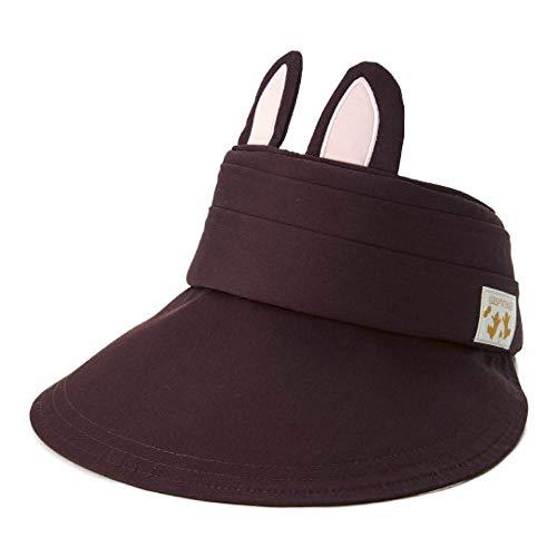 [ベルメゾン]ディズニー 帽子 耳つきサンバイザー カラー チップ&デール
