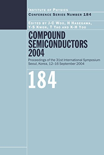 Compound Semiconductors 2004: Compound Semiconductors for Quantum Science and Nanostructures (Institute of Physics Conference Series Book 184) (English Edition)