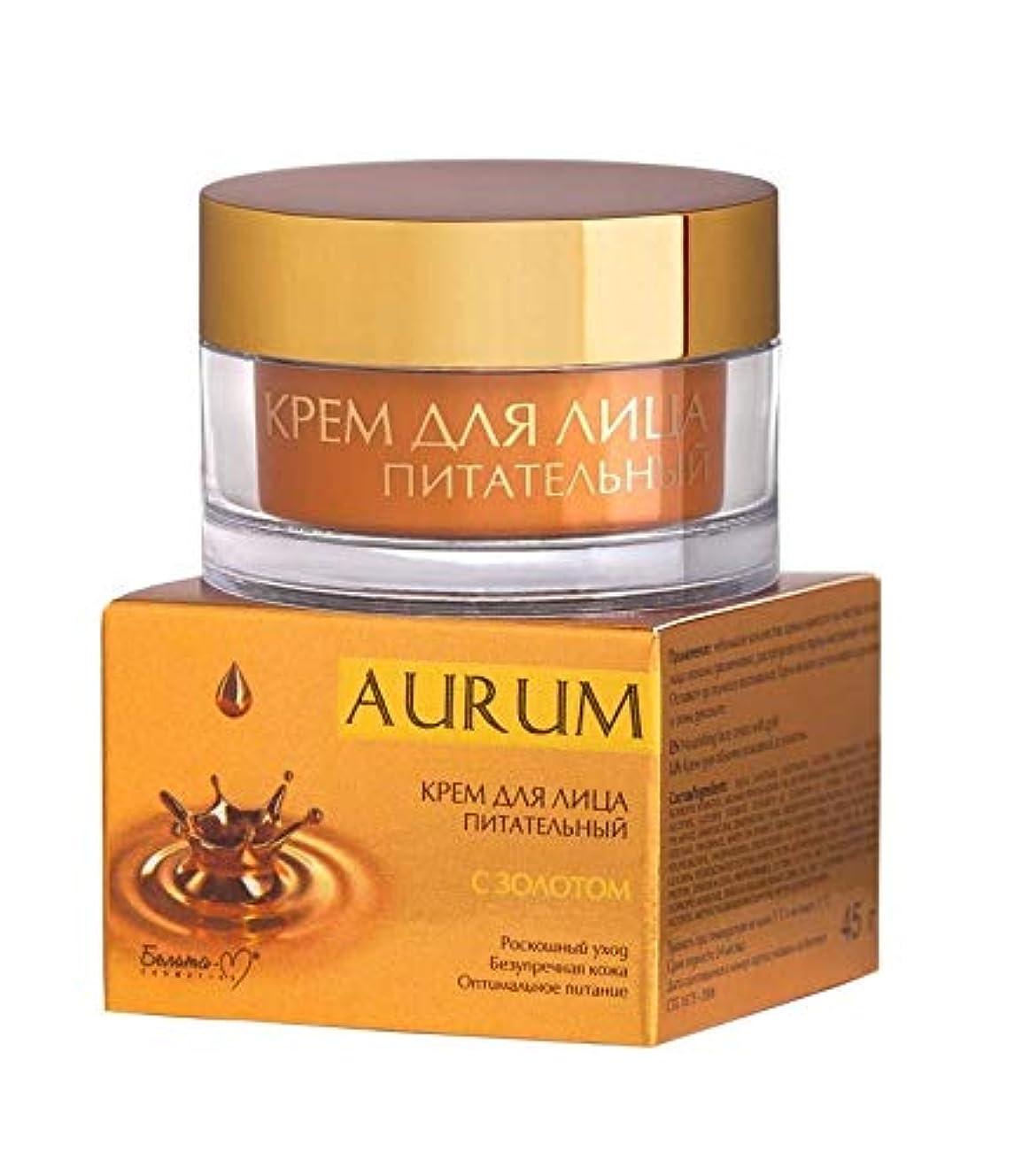 面倒クレーター他の場所Bielita & Vitex   NUTRITIONAL FACE CREAM WITH GOLD   AURUM   Luxury care   Flawless skin   Optimal nutrition  ...