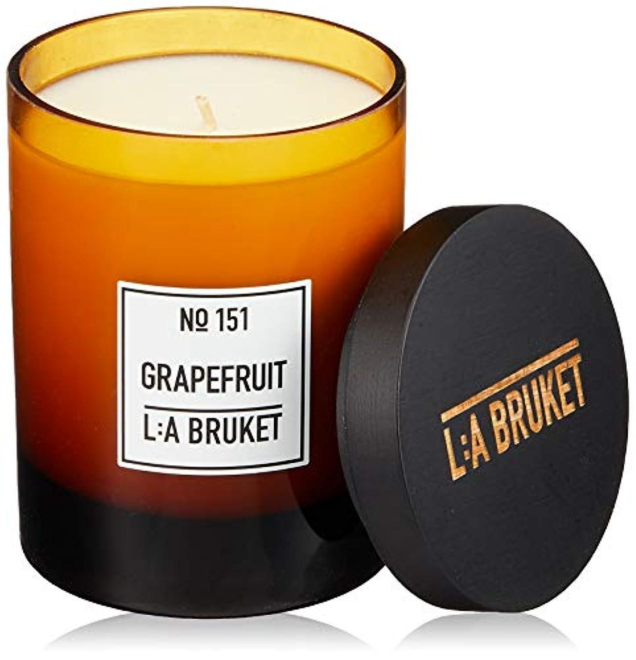 穏やかな箱行進L:a Bruket (ラ ブルケット) キャンドル (グレープフルーツ) 260g