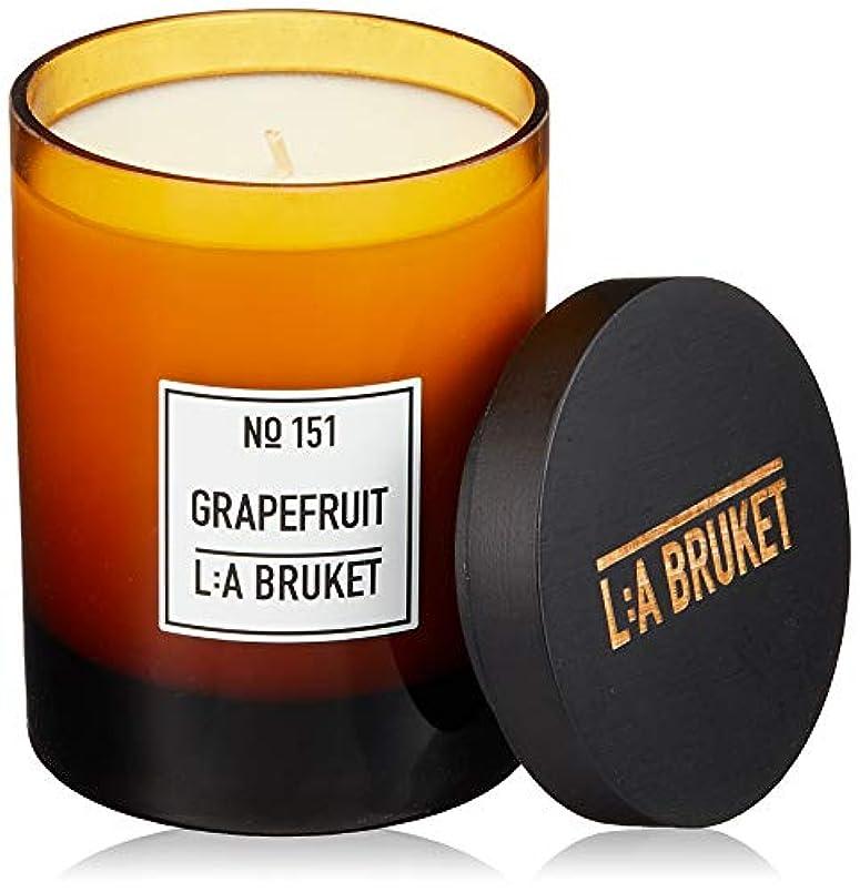 ファウル服を洗う革命的L:a Bruket (ラ ブルケット) キャンドル (グレープフルーツ) 260g
