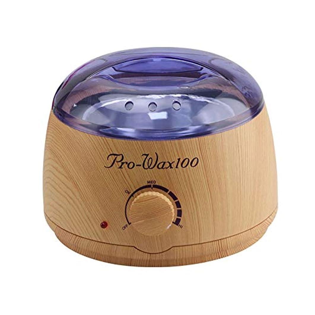便利さ調べる通信網調節可能な温度のワックスマシン、女性および男性500CCのための多機能の家のワックスが付いている毛の取り外しのための専門の電気ワックスのウォーマーのヒーターのメルター