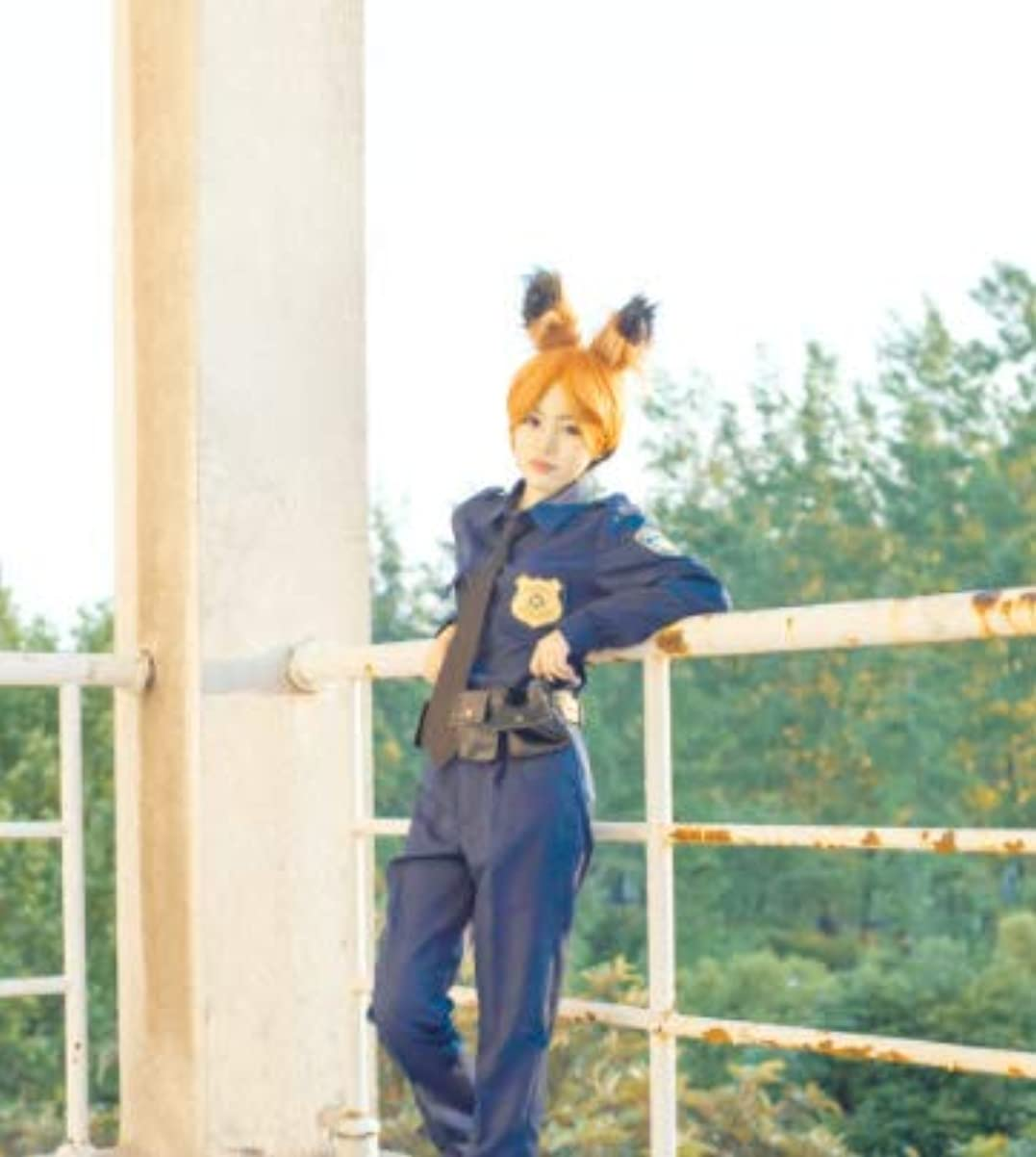 切り離す重量機械【ミドリ屋】Nick ニック?ワイルド 警察服 コスプレ用衣装 cosplay 男性M