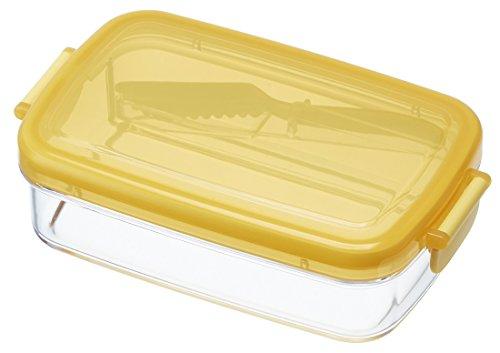 スケーター『ふわふわバターナイフ付 密封 バターケース(PBJ1F)』