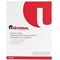 Universal 90107 Universal Bulk Pack Copier Mailing Labels UNV90107 UNV 90107 by UNIVERSAL