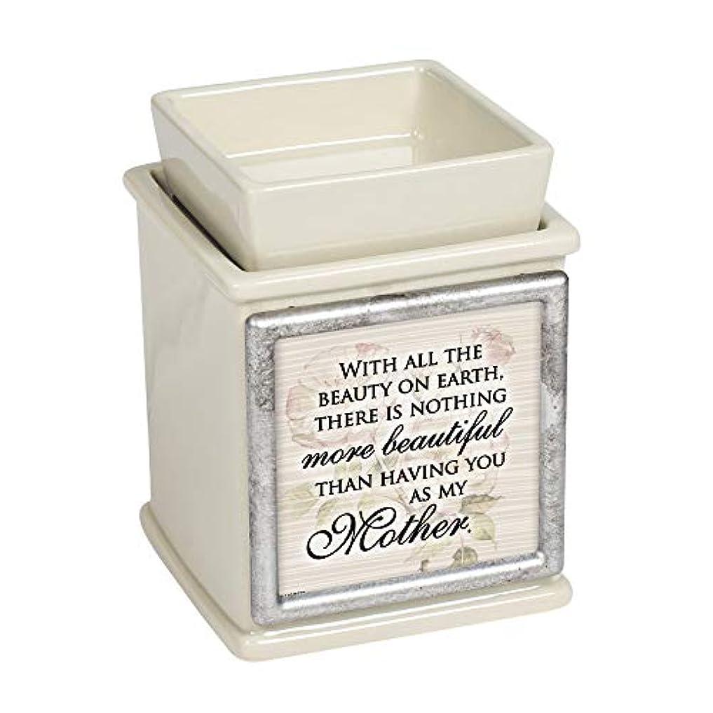 生活タブレット祭りElanze Designs 美しい Having You My Mother パウダー サンド 交換可能 フォトフレーム キャンドル ワックス オイルウォーマー