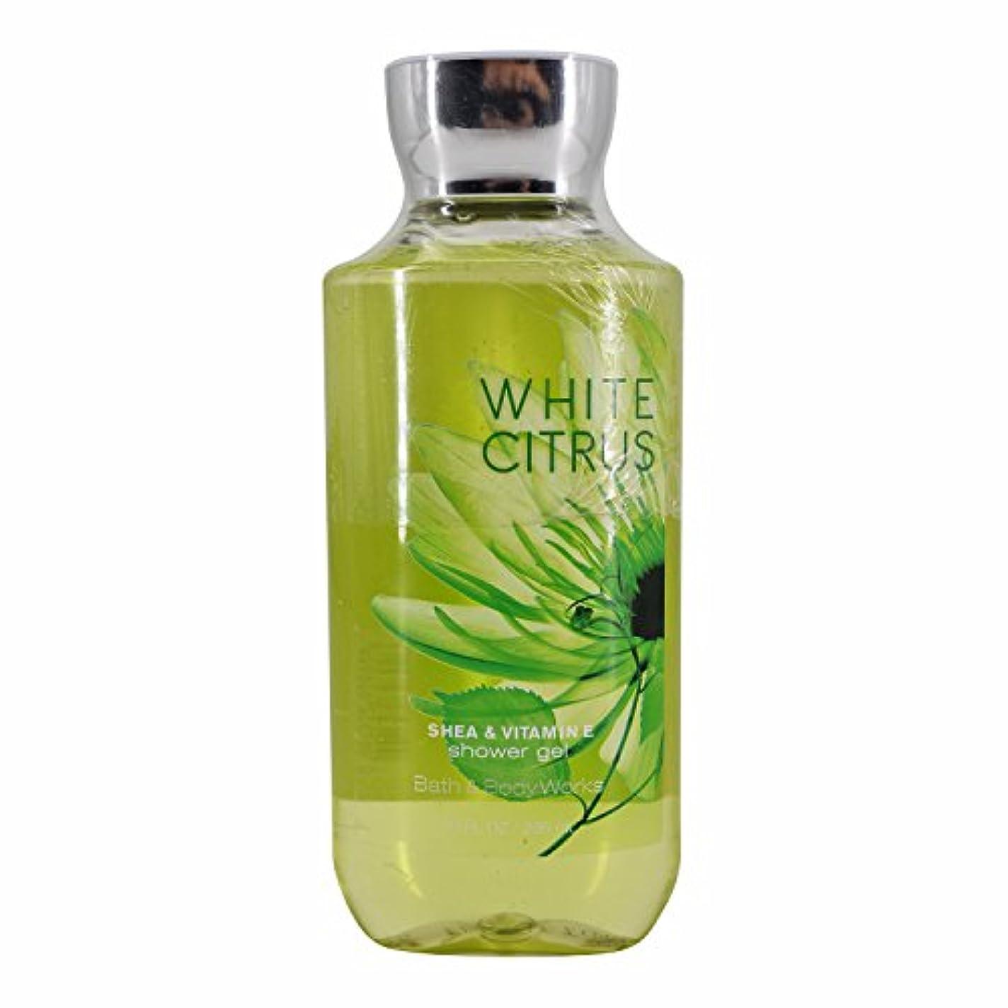 背骨序文なにバス&ボディワークス ホワイトシトラス シャワージェル White Citrus Shea & Vitamin-E Shower Gel