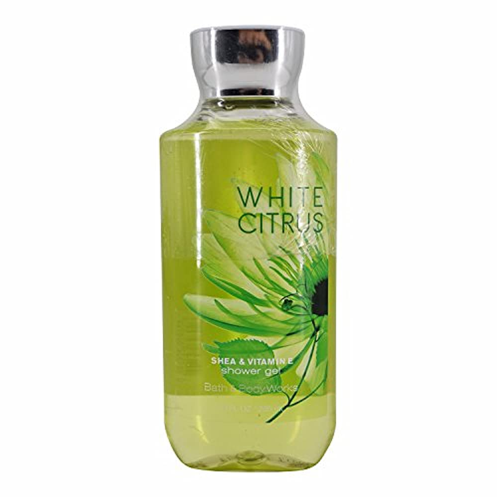 援助落花生限界バス&ボディワークス ホワイトシトラス シャワージェル White Citrus Shea & Vitamin-E Shower Gel